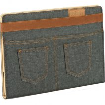 "BLUN BOOK STAND CUSTODIA UNIVERSALE JEANS TABLET 10"" BLACK /"