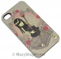EMILY THE STRANGE CUSTODIA FACEPLATE APPLE IPHONE 4 / 4S ELECTRICESOUND