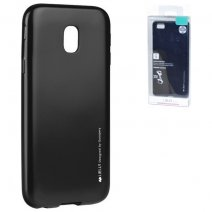 GOOSPERY CUSTODIA SILICONE I-JELLY MERCURY CASE PER SAMSUNG GALAXY J3 (2017) J330 BLACK