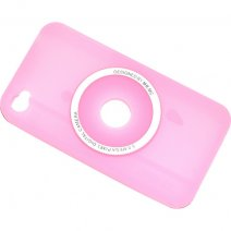 ITAKE CUSTODIA SILICONE  IPHONE 4S PINK