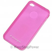 KENSINGTON CUSTODIA ORIGINALE TPU CASE PER APPLE IPHONE 4 PINK