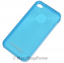 KENSINGTON CUSTODIA ORIGINALE TPU CASE PER APPLE IPHONE 4 BLU