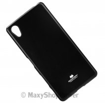 GOOSPERY CUSTODIA SILICONE JELLY TPU MERCURY CASE SONY XPERIA X BLACK