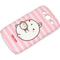 MOLANG CUSTODIA HARD COVER SAMSUNG GALAXY S3 I9300 / NEO I9301 PINK