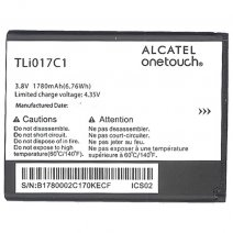 ALCATEL BATTERIA LITIO ORIGINALE TLI017C1 - TLI017C2 BULK PER SMART SPEED 6 - PIXI 3 (4.5)