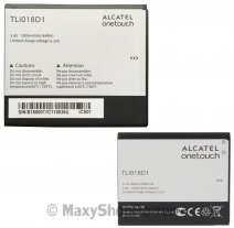 ALCATEL BATTERIA LITIO ORIGINALE TLI018D1 BULK PER OT-D5 POP - POP 3 (5)